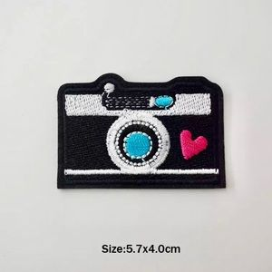 Accessories - Cute Heart Camera Iron On Embroidered Patch